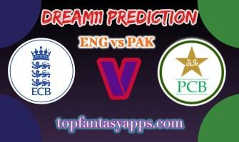 ENG vs PAK Dream11 Team Prediction Today's T20 Match, 100% Winning