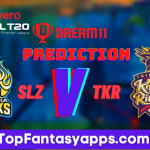 SLZ vs TKR Dream11 Team Prediction For 13th Match CPL 2020 (100% Winning Team)
