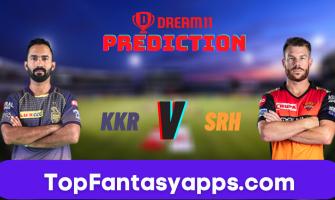 KKR vs SRH Dream11 Team Prediction Todays Match IPL, 100% Winning