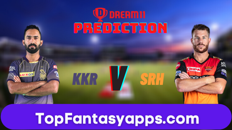 KKR vs SRH Dream11 Team Prediction Todays Match IPL, 100% Winning
