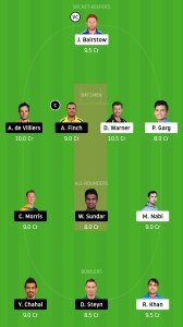 SRH-vs-RCB-Dream11-Team-for-Grand-League