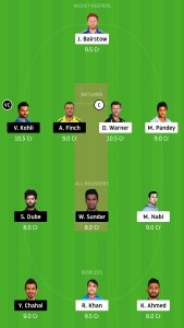 SRH-vs-RCB-Dream11-Team-for-Small-League