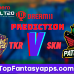 TKR vs SKN Dream11 Team Prediction For Today's Match, 100% Winning