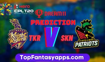 TKR vs SKN Dream11 Team Prediction For Today's Match, 100% Winning