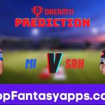 MI vs SRH Dream11 Team Prediction for Today's IPL Match