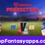 MI vs RR Dream11 Team Prediction for Today's IPL Match, 100% Winning