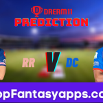 RR vs DC Dream11 Team Prediction for Today's IPL Match, 100% Winning