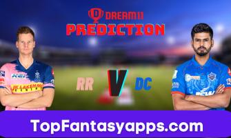 RR vs DC Dream11 Team Prediction for Today's IPL Match, 100% Winning