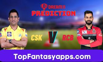 CSK vs RCB Dream11 Team Prediction for Today's IPL Match