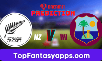 NZ vs WI Dream11 Team Prediction for Today's T20 Match(100% Winning)