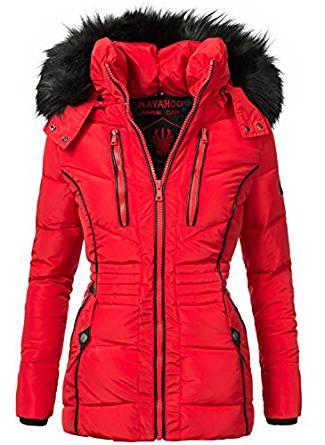 Navahoo Damen Jacke Winterjacke Steppjacke Esma (vegan hergestellt)