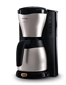 Philips HD7546/20 Gaia Filter-Kaffeemaschine mit Thermo-Kanne, schwarz/metall Topseller