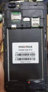 Maximus Max 912 Frp Remove 100% Tested TopFirmwareFlashFile ⋆ Top