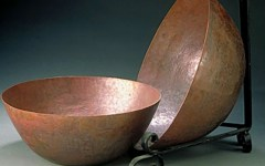 Hammered Copper Bowls