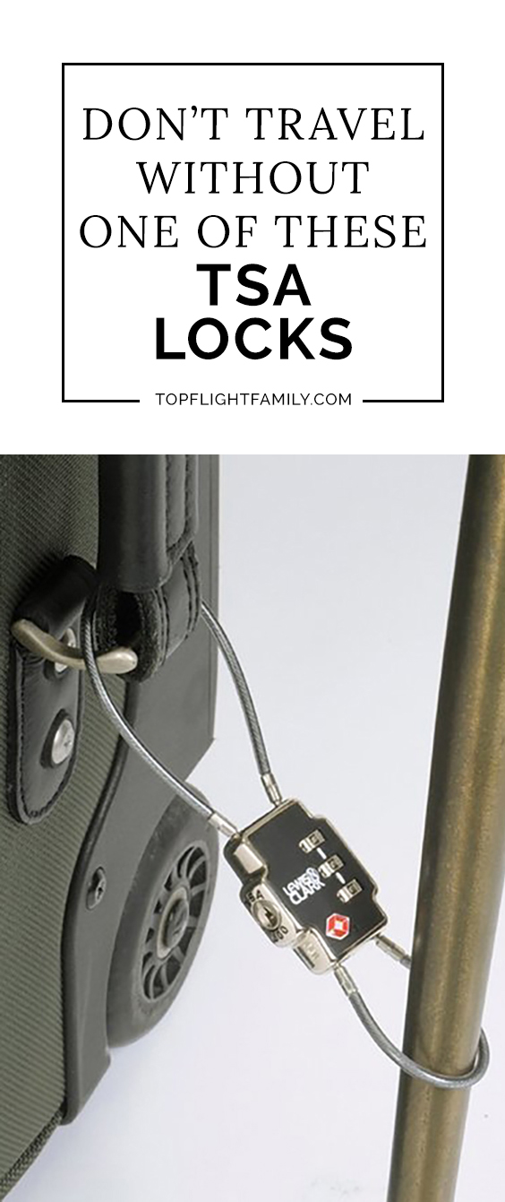 Want to keep your property safe while traveling? Grab yourself one of these TSA locks to secure your belongings and you can go about your trip worry-free.
