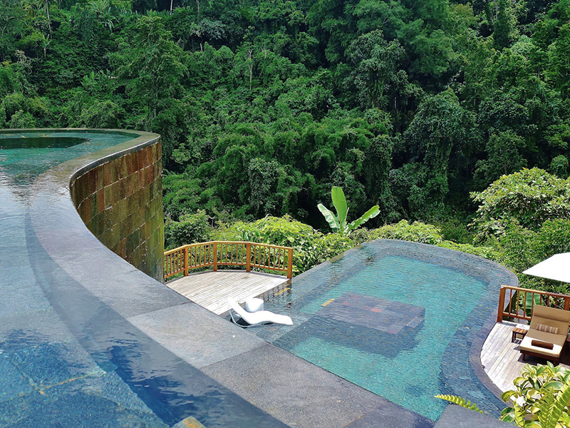 Hanging gardens of bali review of this spectacular ubud for Unique accommodation bali