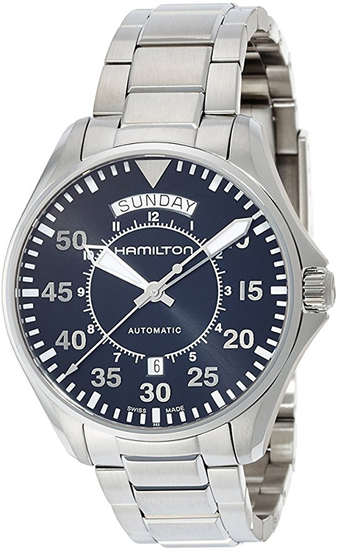 Hamilton Men's 'Khaki Aviation' Swiss Automatic Stainless Steel Dress Watch