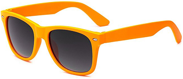 Retro Rewind Kids Soft Feel Matte Frame Sunglasses