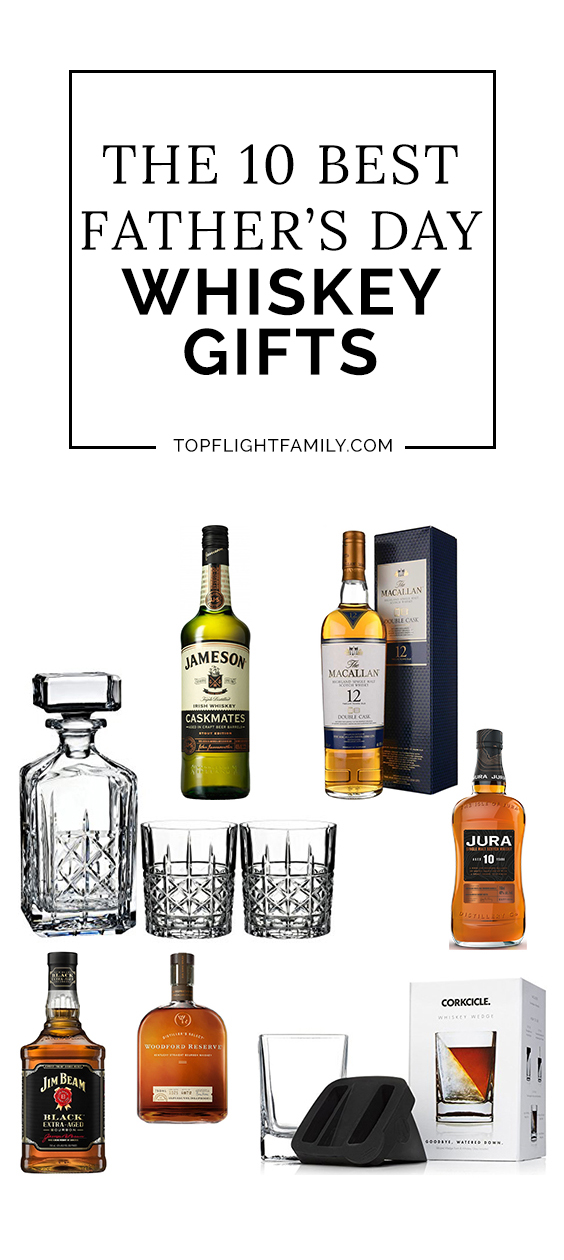 Looking for Father's Day gifts for whiskey lovers? You're bound to find the perfect whiskey gifts for dad with our gift guide.