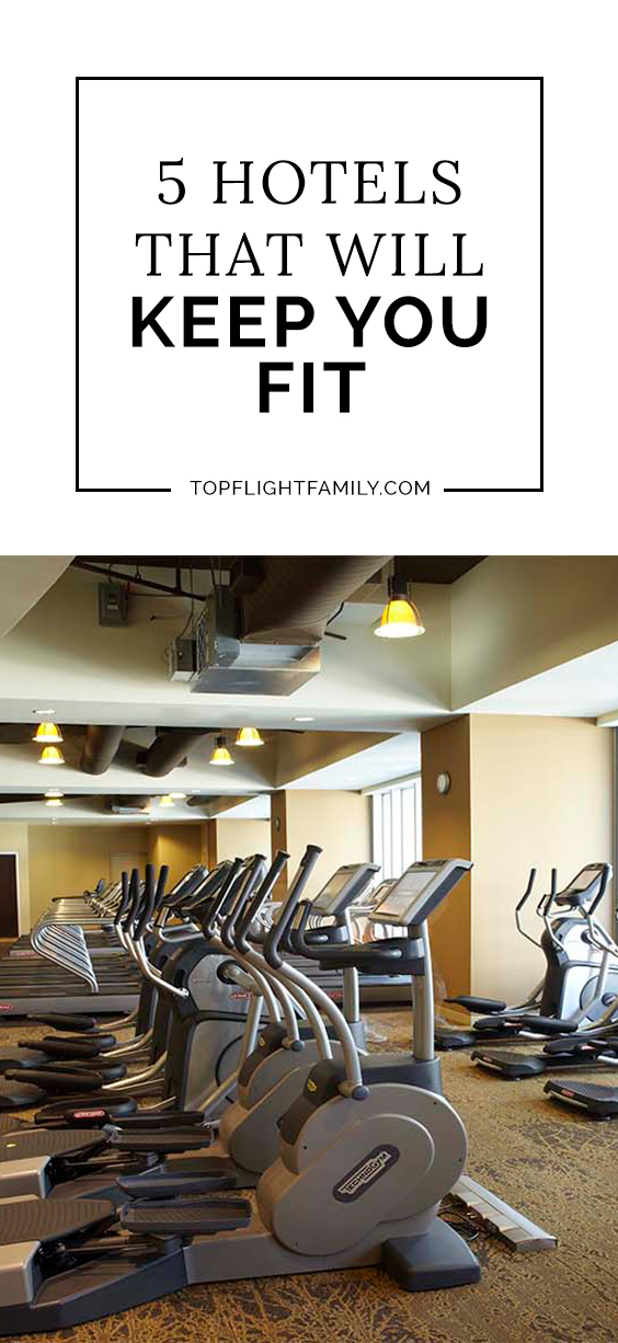 Sick of hotel gyms that offer you a super-outdated treadmill and a few dumbbells? Then check out these properties that have the best hotel gyms.