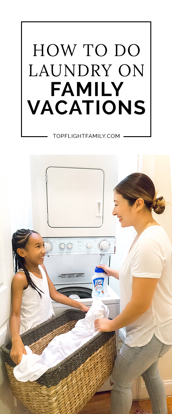 #ad Even if you can afford laundry service at a hotel, you may not want to pay the inflated rates. Here's my advice on how to do laundry on family vacations.