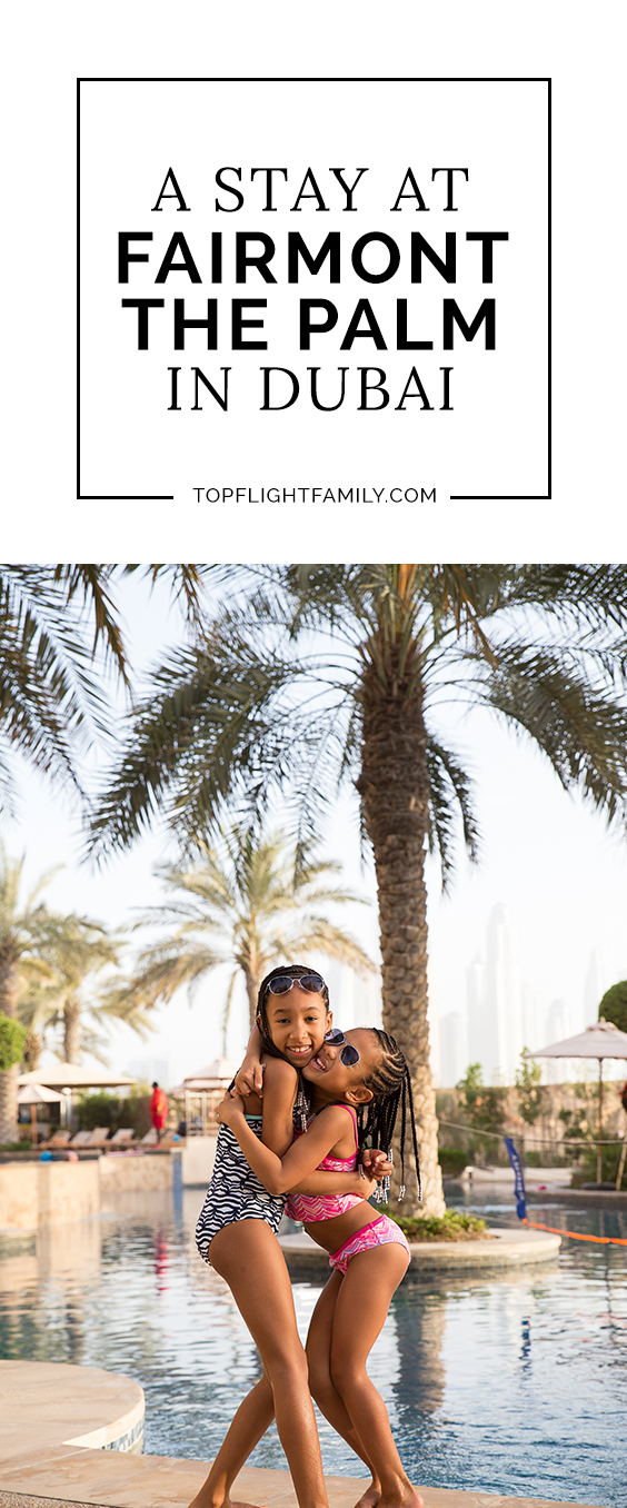 If you're seeking a family-friendly resort in Dubai with fantastic food, look no further than Fairmont the Palm Dubai. Here's a look at our stay there.