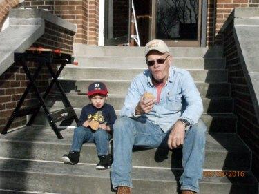 Bronson and his grandpa