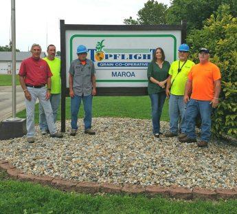 Maroa Employees - Around Topflight Grain 2017