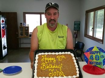 John's 40th