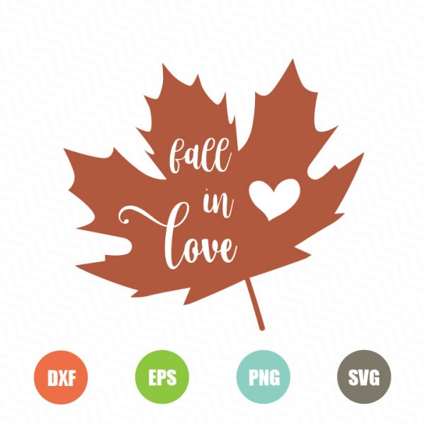 Download Fall in Love Free SVG - TopFreeDesigns
