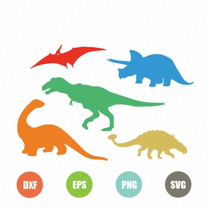 Free Dinosaur Silhouette Svg Topfreedesigns