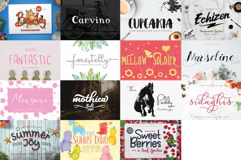 free font bundle