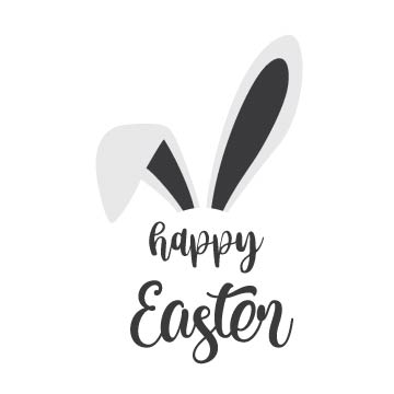 Happy Easter free svg file
