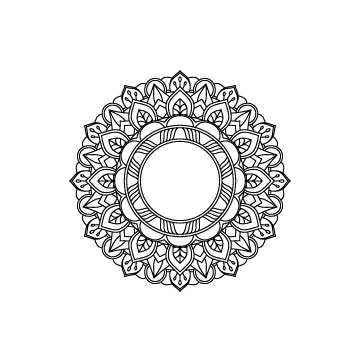 free mandala svg file for cricut, silhouette cameo
