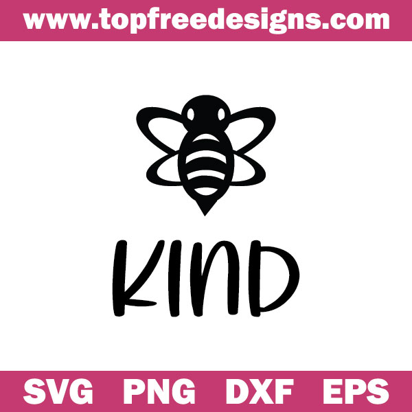 Be Kind free svg file