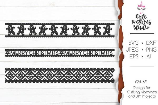 FREE Christmas ornaments Cricut SVG
