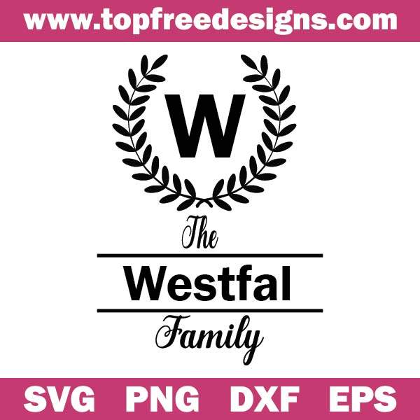 Family Name SVG