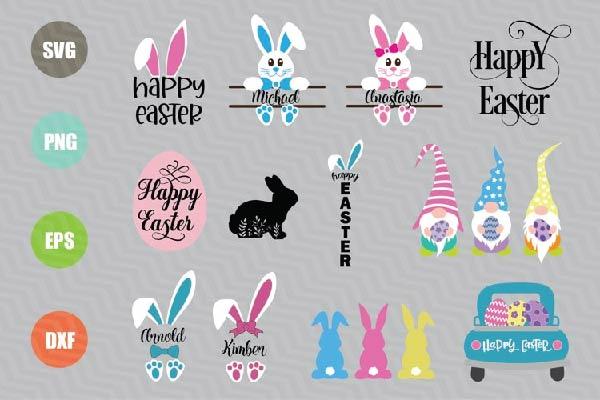 Easter Svg Bundle
