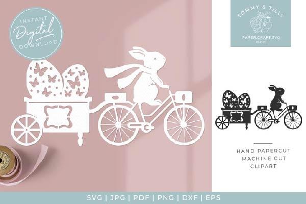 free Easter Egg Trailer svg
