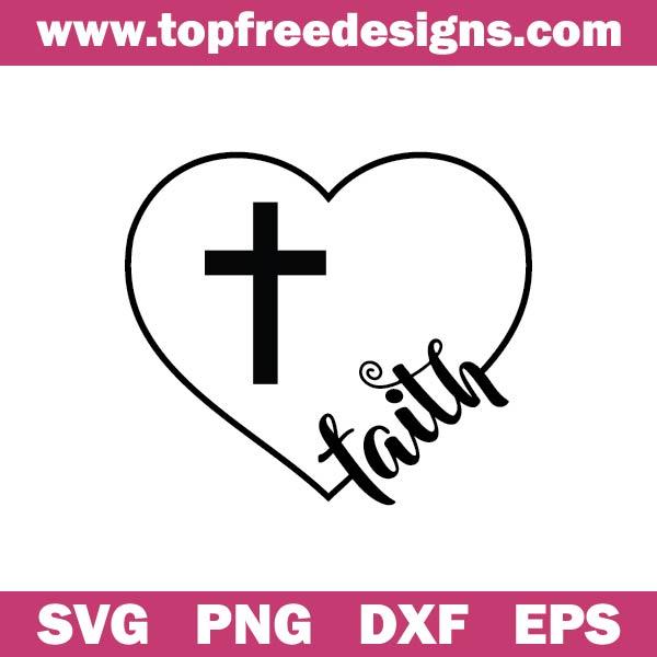 Faith Heart svg