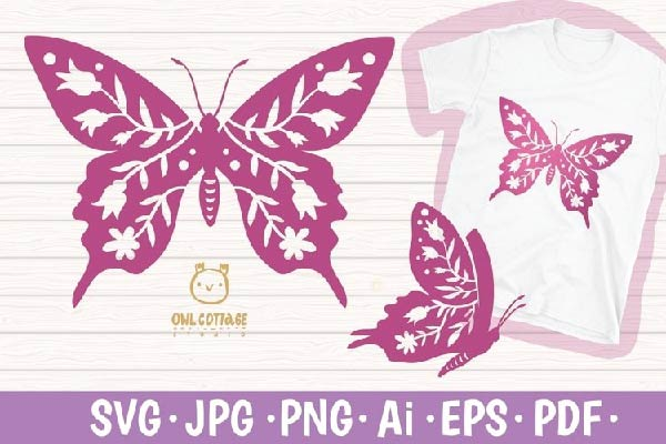 Butterfly SVG free