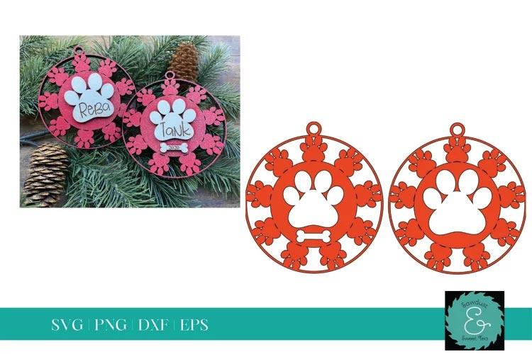 Dog Ornament SVG free