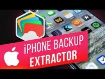 iPhone Backup Extractor 7.7.32.4142 Crack