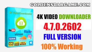 4K Video Downloader 4.8.0.2852 Crack With Serial Number Download 2019