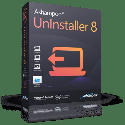 Ashampoo UnInstaller 8.00.12 Keys For Crack Full Version
