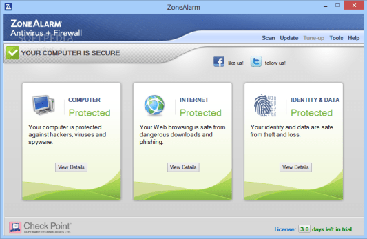 ZoneAlarm Pro Firewall 2019 Activation Key