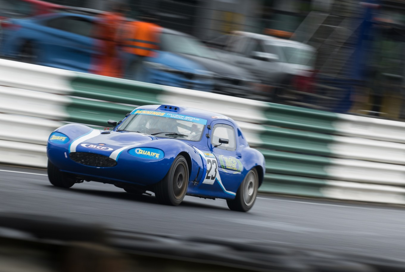 On his Mondello Park debut, Patrick's lap times were within just