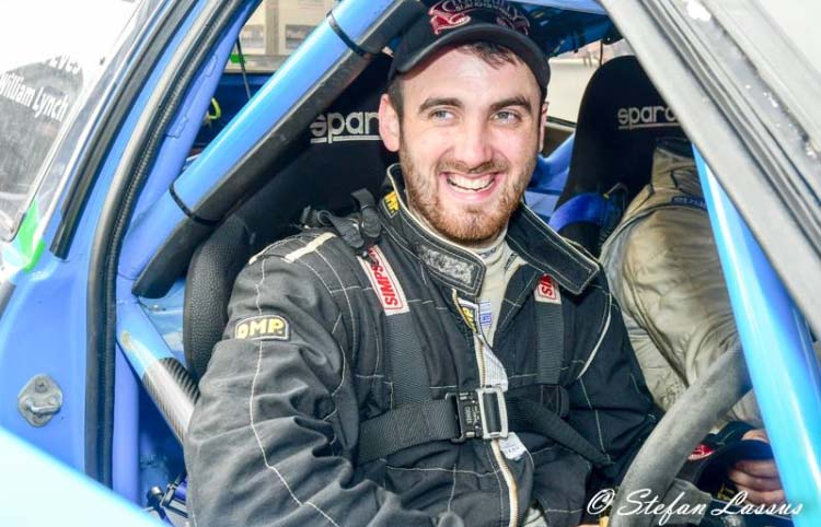 Kevin Eves has been nominated for this year_s Motorsport Ireland Billy Coleman Young Rally Driver Award