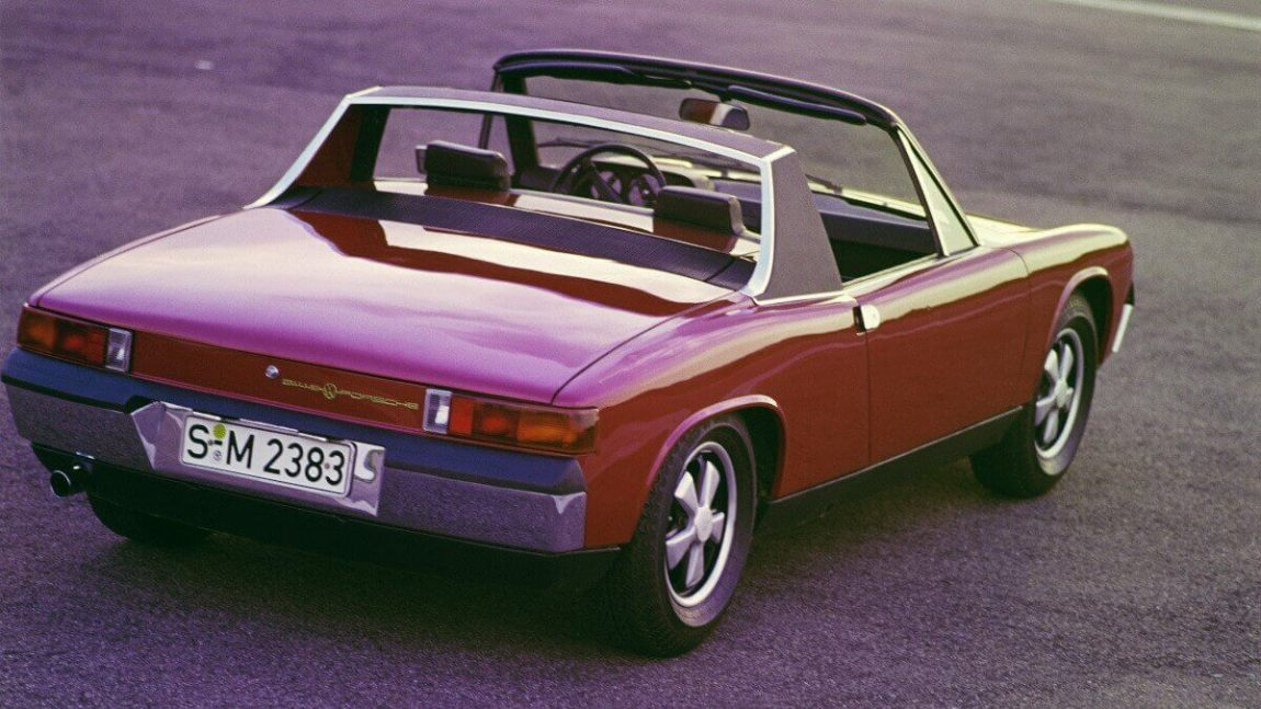 Slow sports cars: Porsche 914