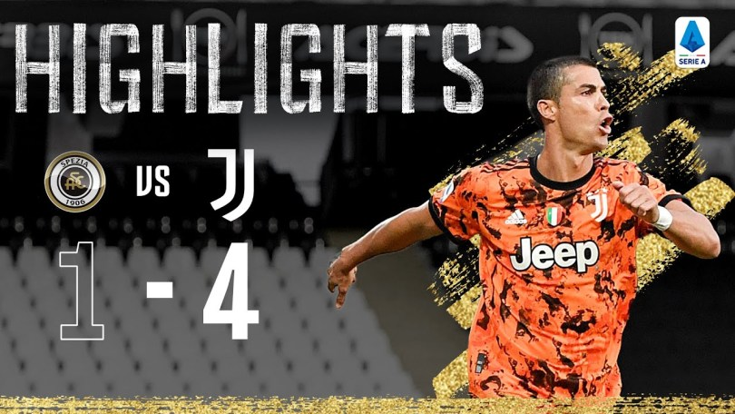 Highlights: Spezia 1-4 Juventus